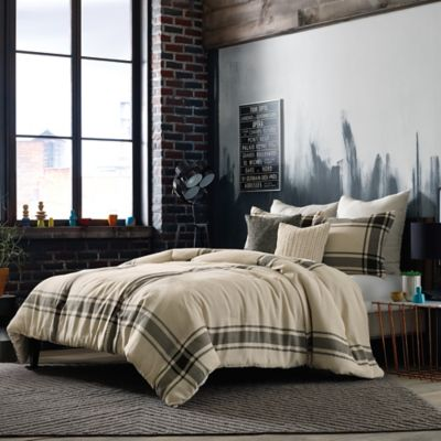 Studio 3B™ by Kyle Schuneman Harris Twin Duvet Cover Set in Taupe