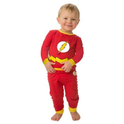 DC Comics 2-Piece Size 12M The Flash PJ Set