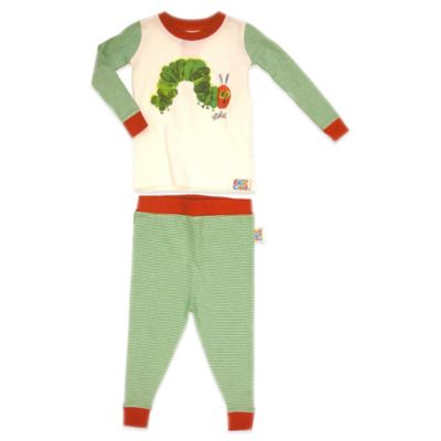 Eric Carle The Very Hungry Caterpillar Size 12M 2-Piece PJ Set