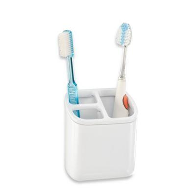 InterDesign® Affixx™ Toothbrush/Razor Holder