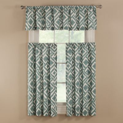 Aqua Valances For Windows