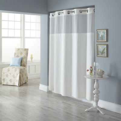 Hookless® Spa Waffle Shower Curtain