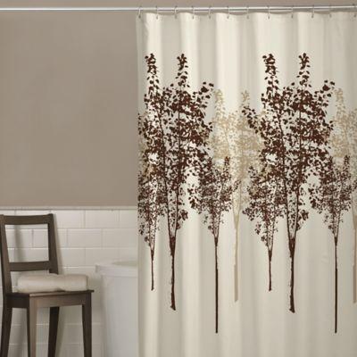 Tan Bath Curtains