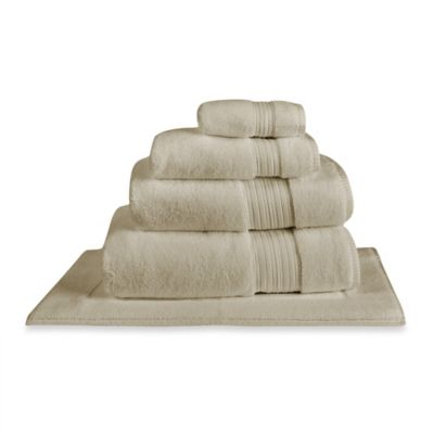 Charisma Regent Zero Twist Cotton Bath Sheet in Oyster
