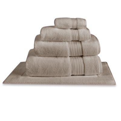 Charisma Regent Zero Twist Cotton Wash Towel in Steel