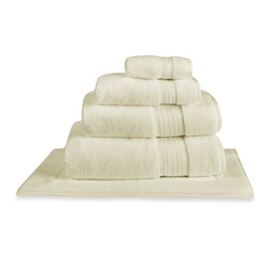 Charisma Regent Zero Twist Cotton Bath Sheet in Vanilla