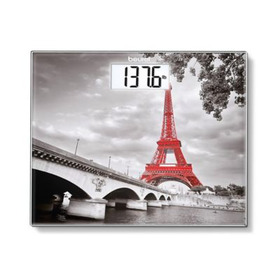 Beurer Paris Glass Bathroom Scale