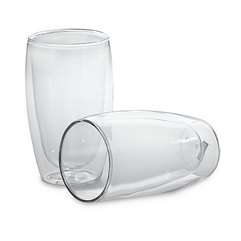 Bodum® Thermo-Glass Pavina Double Wall Thermal 15-Ounce Beer Glasses (Set of 2)
