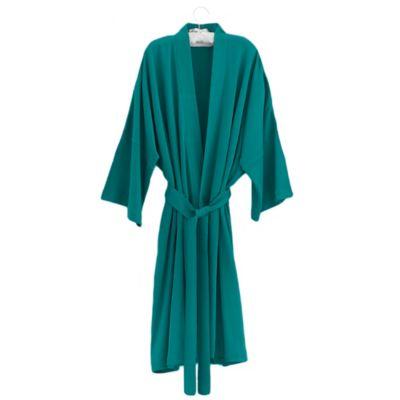 Under The Canopy® Organic Cotton Kimono Bathrobe in Teal