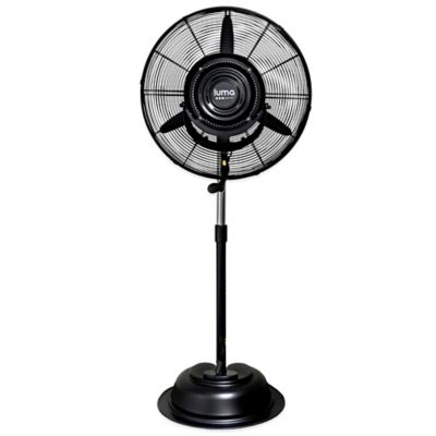 Luma Comfort MF24B 24-Inch 3-Speed Oscillating Misting Fan