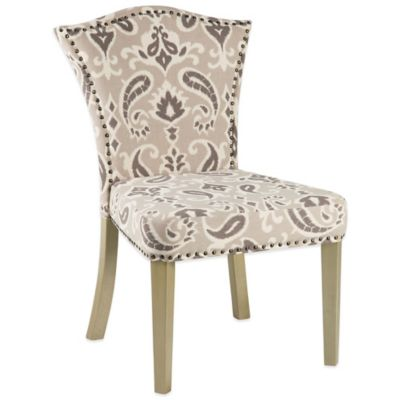Bombay Adriel Ikat Crown Side Chair