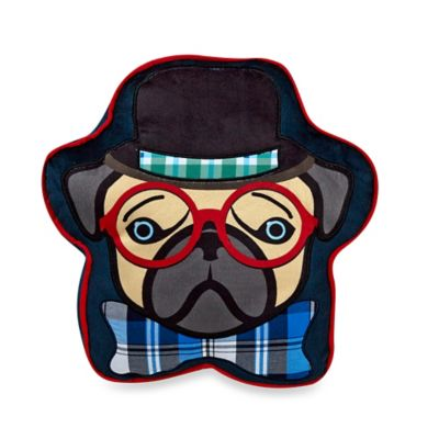 Winston Dog-Shaped Throw Pillow