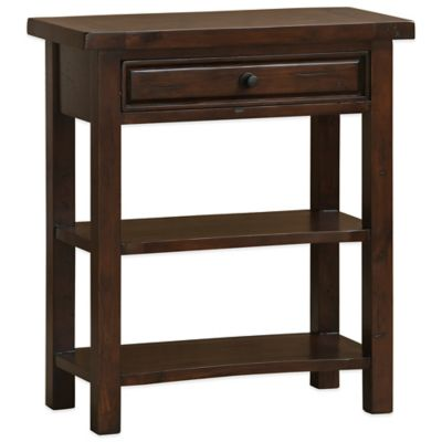 Hillsdale Tuscan Retreat® Single Drawer Console Table in Antique Pine