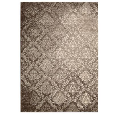 Kathy Ireland® Home Santa Barbara 3-Foot 9-Inch x 5-Foot 9-Inch Area Rug in Grey