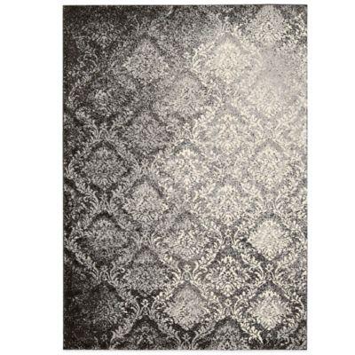 Kathy Ireland® Home Santa Barbara 7-Foot 9-Inch x 10-Foot 9-Inch Area Rug in Grey