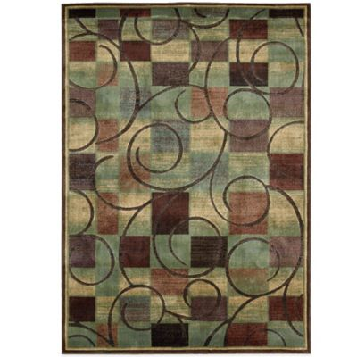3 6 x 5 6 Nourison Brown Area Rug
