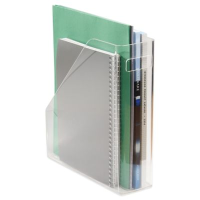 InterDesign® Linus Clear Magazine and File Organizer