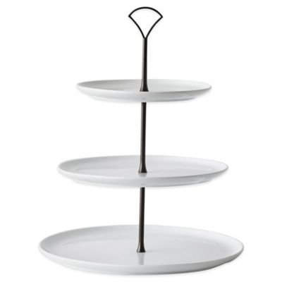 B. Smith 3-Tier Tower with Graduated Serving Plates
