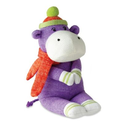 Harold the Knit Hippo Plush Toy