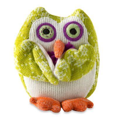 Trishia the Knit Owl Plush Toy