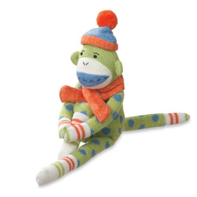 Reese the Knit Monkey Plush Toy