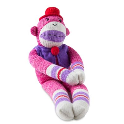 Penelope the Knit Monkey Plush Toy