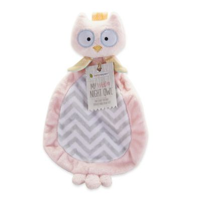 Baby Aspen My Little Night Owl Plush Lovie