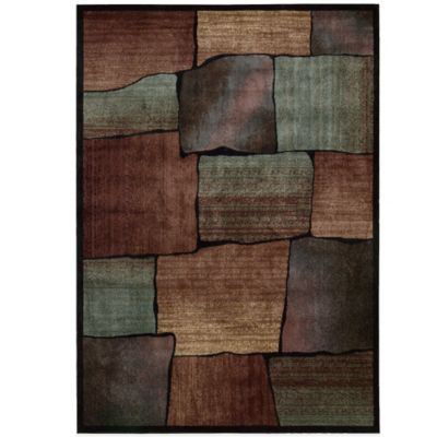 Nourison 5 6 Brown Green Area Rug
