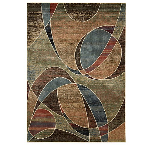 Nourison Expressions Abstract Area Rug In Multicolor Bed