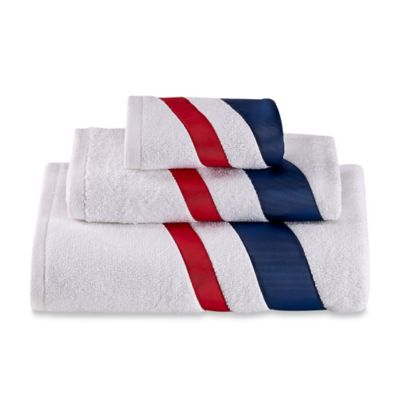 Bath Towels with Sailboats
