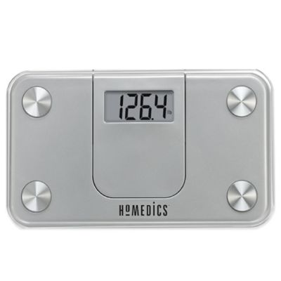 HoMedics® Mini Bathroom Scale in Silver