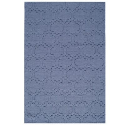 Spectra 5-Foot x 8-Foot Rug in Blue