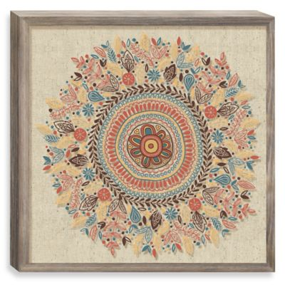 Sunrise Mandala Shadowbox Wall Décor
