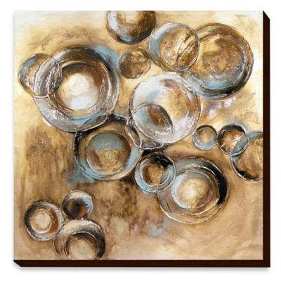Metal Circles Wall Art