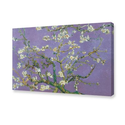 Van Gogh Almond Blossom Lavender Canvas Wall Art