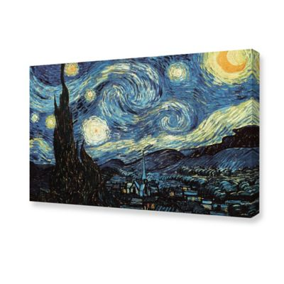 Van Gogh The Starry Night Canvas Wall Art