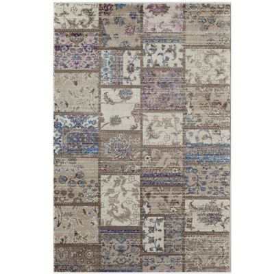 Rugs America Tahoe Patch 7-Foot 10-Inch x 10-Foot 10-Inch Rug in Beige