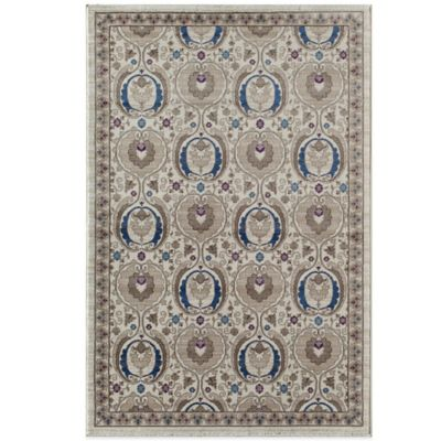 Rugs America Tahoe 7-Foot 10-Inch x 10-Foot Rug in White Smoke