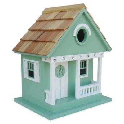 Home Bazaar Beachcomber Sand Dollar Cottage Birdhouse