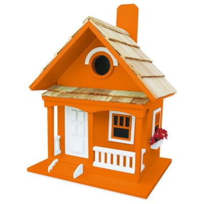 Home Bazaar Cottage Birdhouse in Café Au Lait