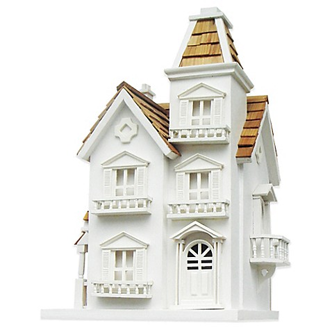 Buy home bazaar victorian manor birdhouse from bed bath for Victorian manor house