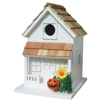 Home Bazaar Little Season's Tweetings Birdhouse