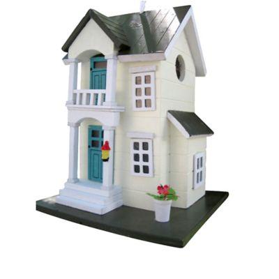 Home Bazaar Main Street Cottage Birdhouse in Yellow