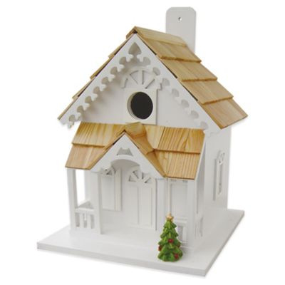 Home Bazaar Season's Tweetings Birdhouse