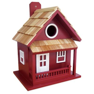 Home Bazaar Little Cabin Birdhouse