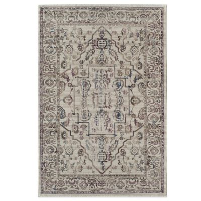 Rugs America Tahoe 2-Foot x 3-Foot Area Rug in Ivory