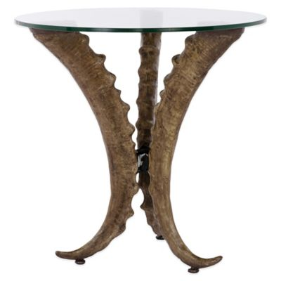 Safavieh Aspen Horn Round Side Table