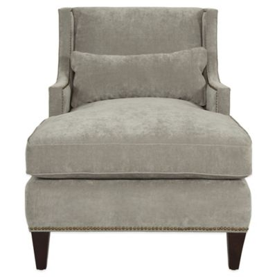 Safavieh Vitali Chaise in Grey