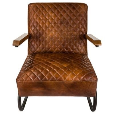 Safavieh Hamel Armchair in Brown