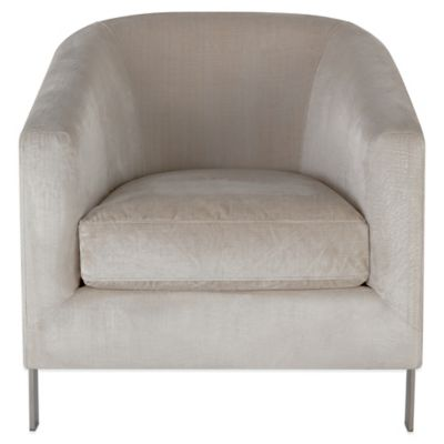 Safavieh Vernon Club Chair in Bella White